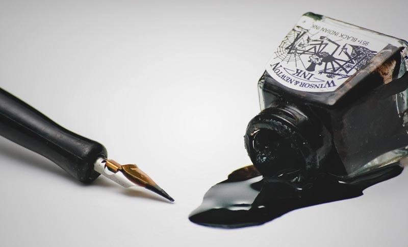 Tipos de tinta para estilográficas
